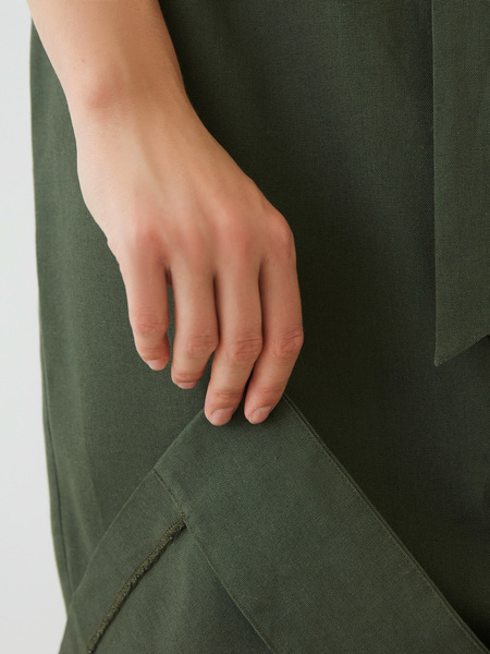 Платье изо льна - фото 8