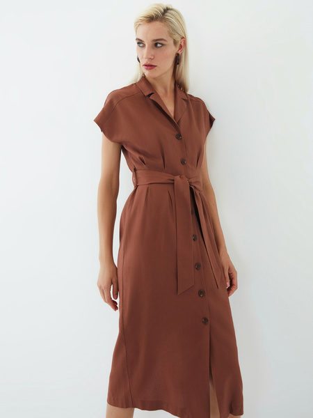 Платье изо льна - фото 2