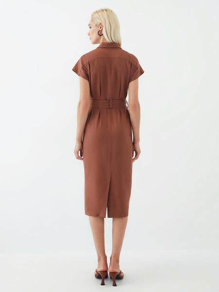 Платье изо льна - фото 13