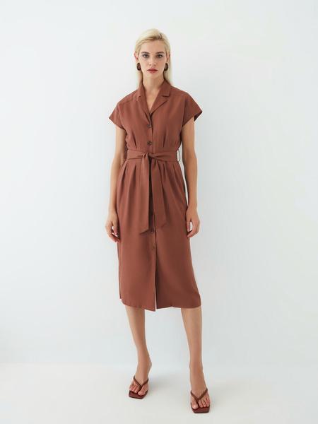 Платье изо льна - фото 3