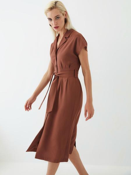 Платье изо льна - фото 9