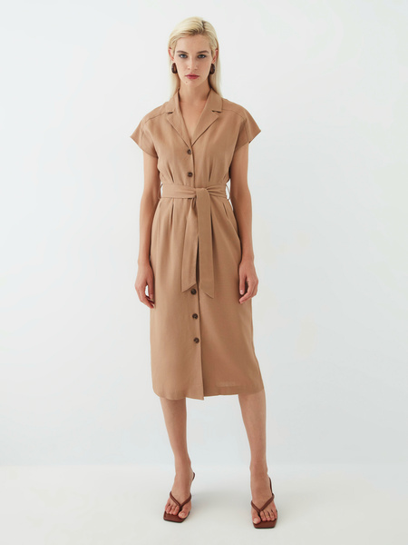 Платье из льна - фото 2