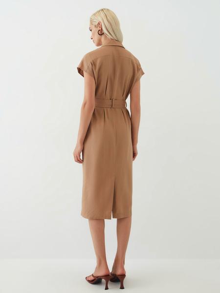 Платье из льна - фото 10