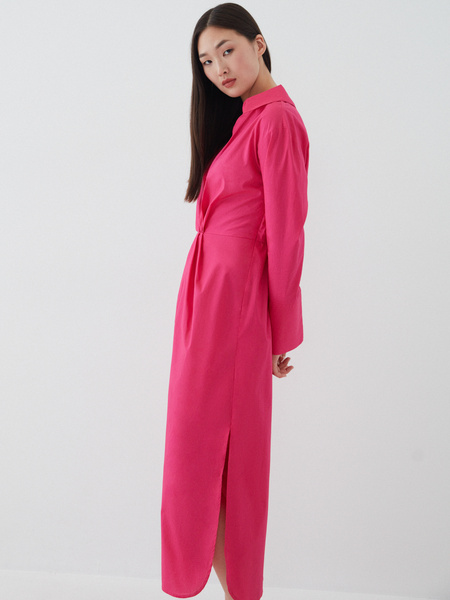 Платье-рубашка - фото 5