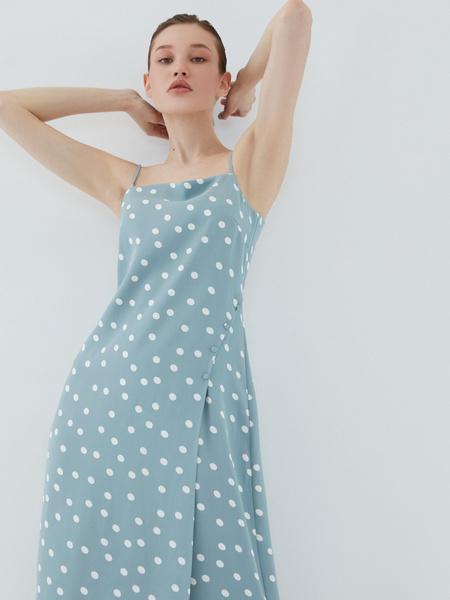 Платье с пуговицами - фото 1