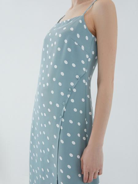 Платье с пуговицами - фото 4
