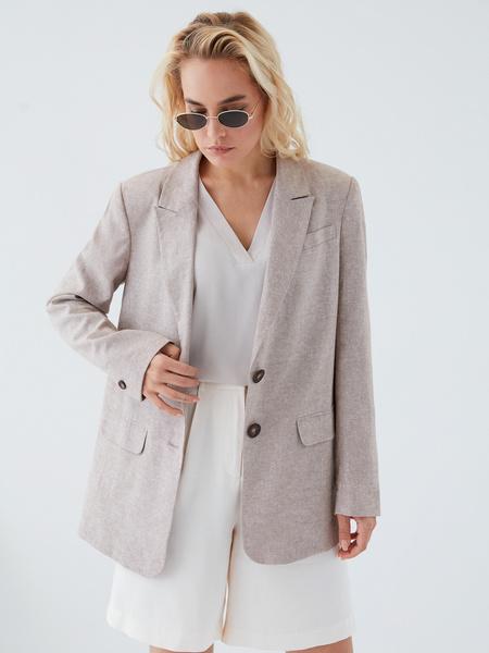 Блузка с вырезом - фото 2