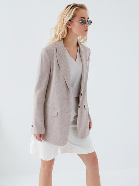 Блузка с вырезом - фото 7