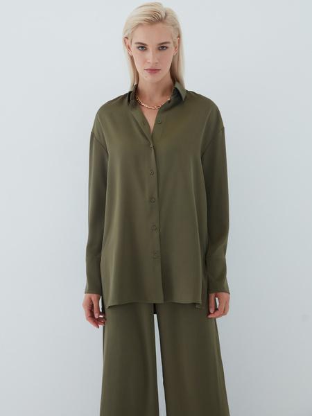 Струящаяся блузка - фото 2