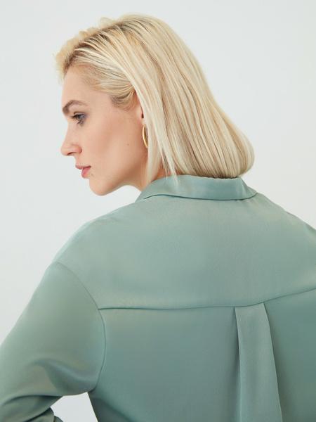 Струящаяся блузка - фото 11