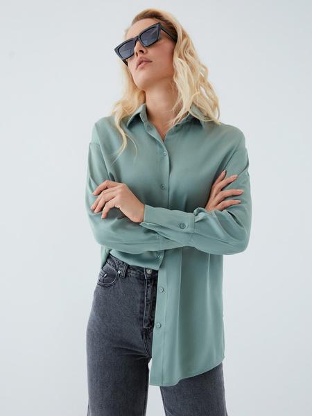 Струящаяся блузка - фото 14
