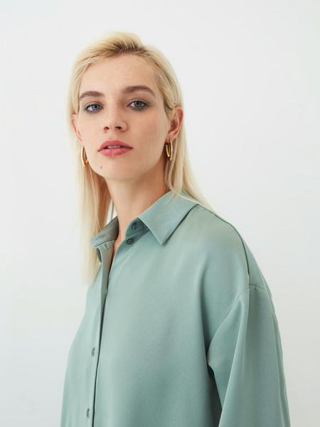 Струящаяся блузка - фото 4