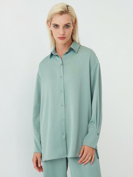 Струящаяся блузка - фото 7