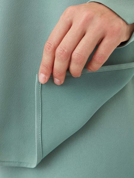 Струящаяся блузка - фото 10