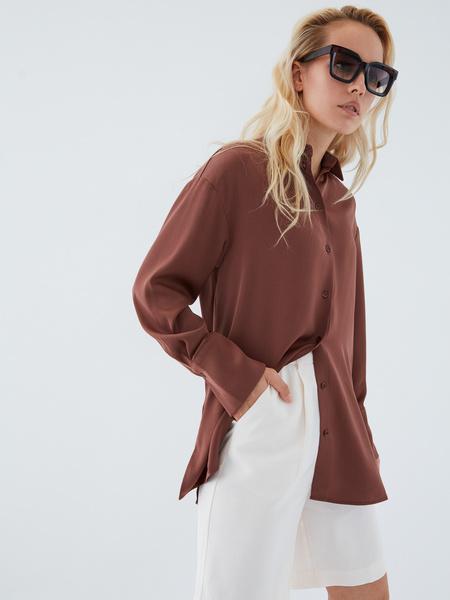 Струящаяся блузка - фото 12