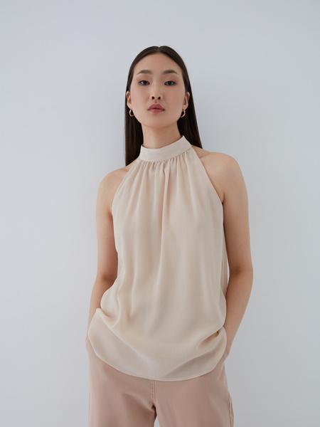 Блузка с открытыми плечами - фото 2