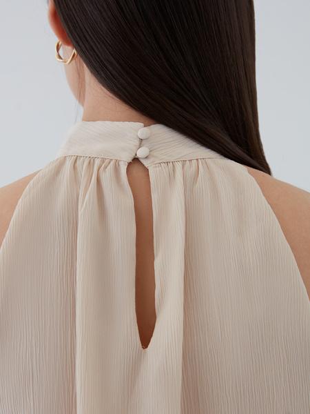 Блузка с открытыми плечами - фото 6