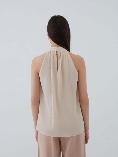 Блузка с открытыми плечами - фото 7