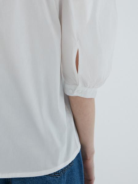 Блузка с рукавами-буфами - фото 9