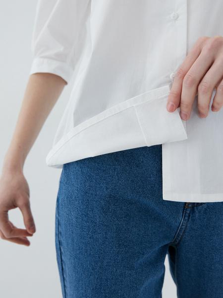 Блузка с рукавами-буфами - фото 10