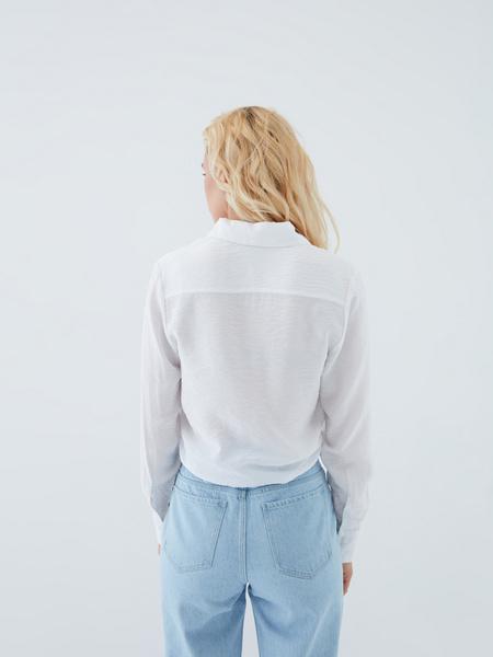 Блузка с завязками - фото 14