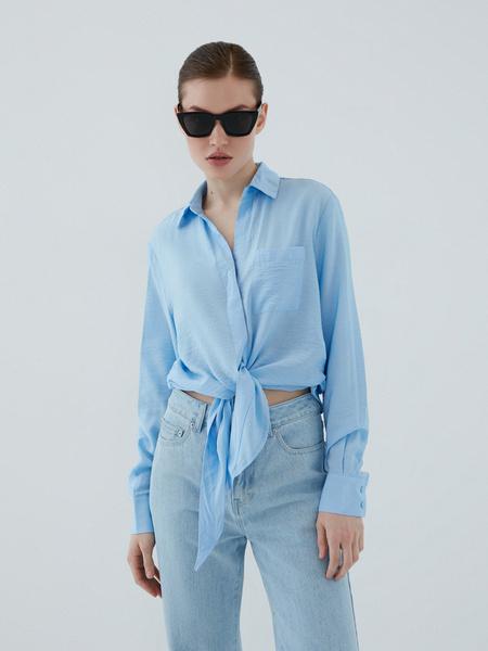 Блузка с завязками - фото 7