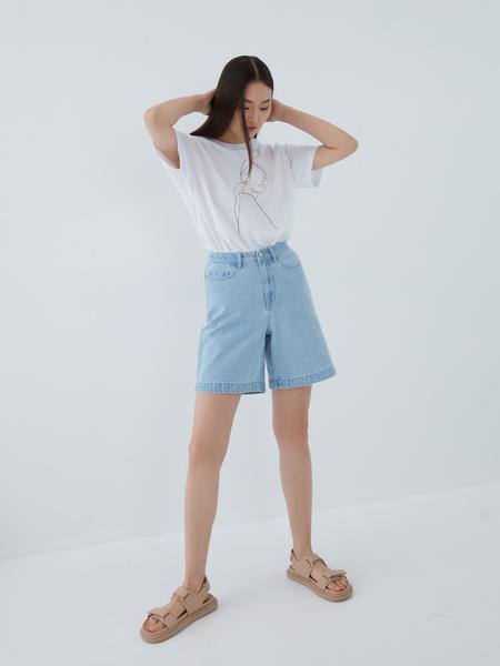 Джинсовые шорты - фото 12