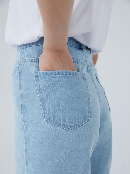 Джинсовые шорты - фото 8