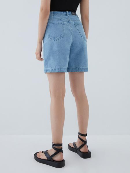 Джинсовые шорты - фото 6