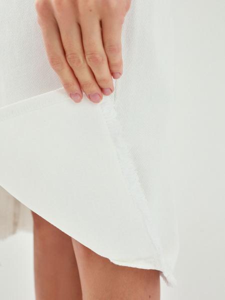 Джинсовая юбка - фото 7