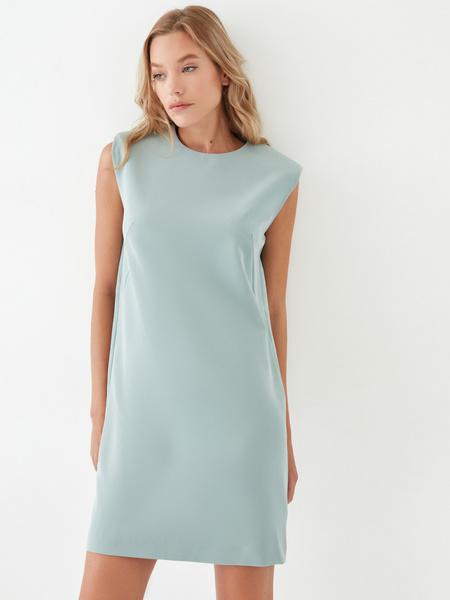 Платье с подплечниками - фото 10