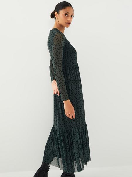 Платье с принтом - фото 12