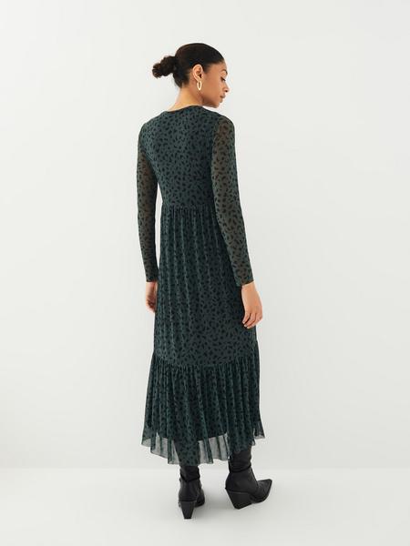Платье с принтом - фото 10