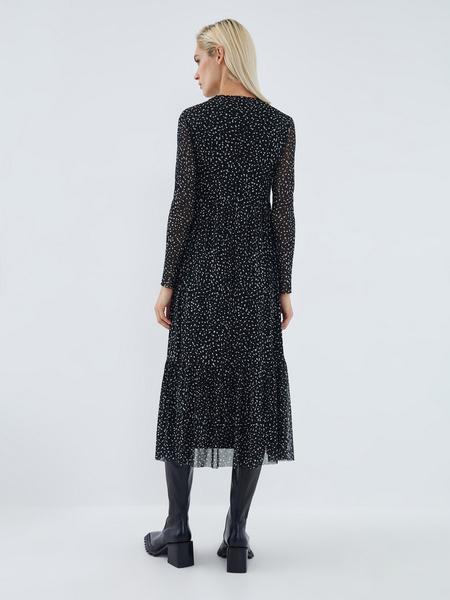 Платье с принтом - фото 7