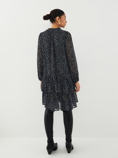 Платье с воланами - фото 9