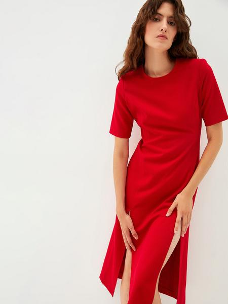 Платье с разрезами - фото 1