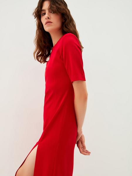 Платье с разрезами - фото 5