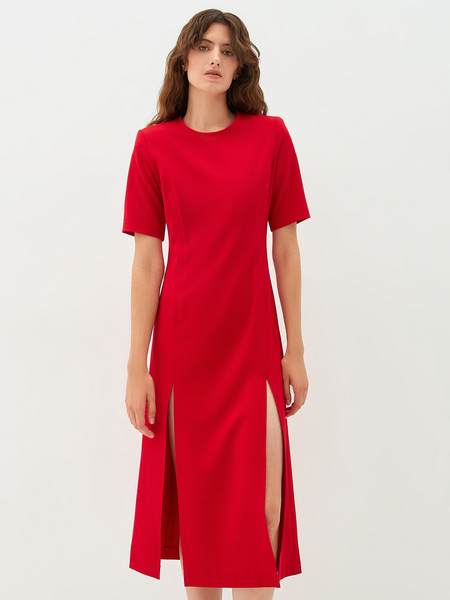 Платье с разрезами - фото 6