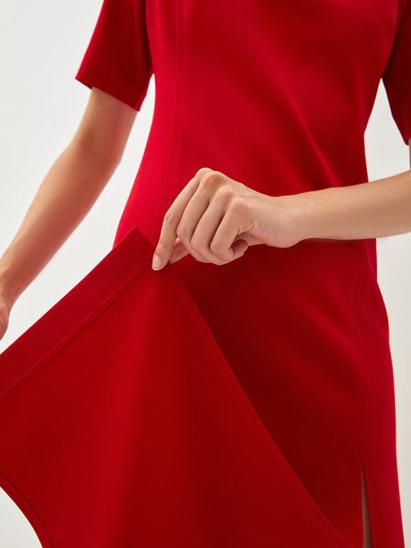 Платье с разрезами - фото 7