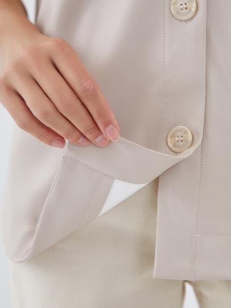 Блузка из экокожи - фото 5