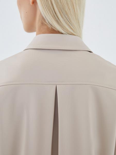 Блузка из экокожи - фото 7