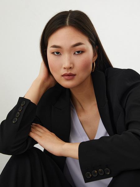 Блузка с вырезом - фото 4