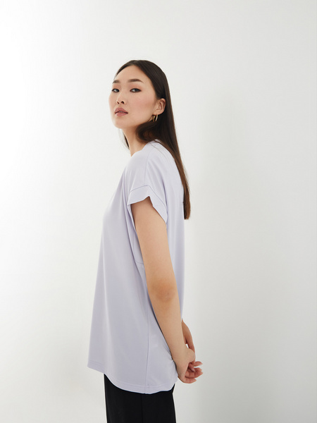 Блузка с вырезом - фото 6