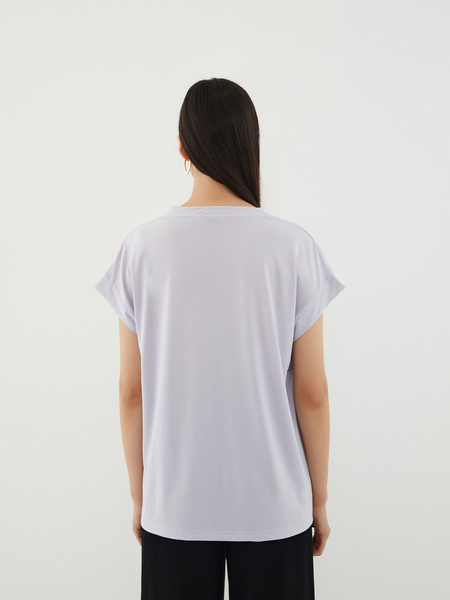 Блузка с вырезом - фото 8