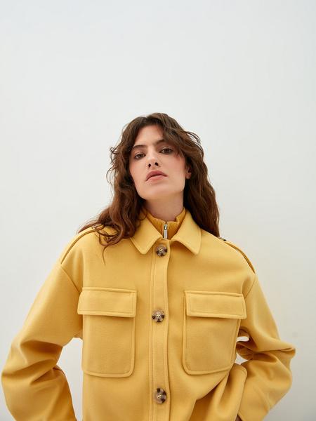 Рубашка из вискозы - фото 4