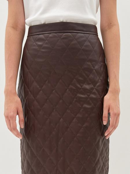 Стеганая юбка - фото 5
