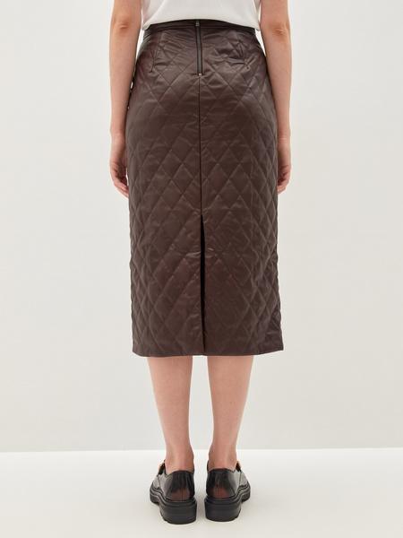 Стеганая юбка - фото 7