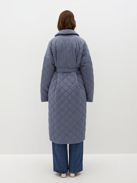 Пальто на поясе - фото 10