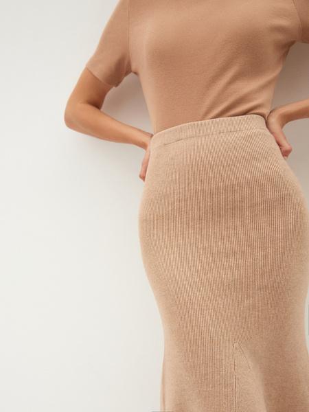 Трикотажная юбка - фото 7