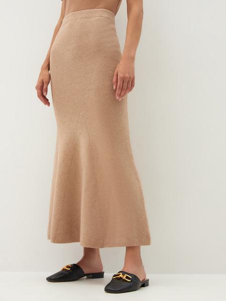 Трикотажная юбка - фото 8